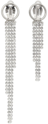 Justine Clenquet Silver Shanon Clip-On Earrings