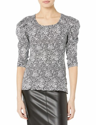 Parker Women's Long Sleeve Top with Smocking on The Bodice