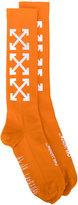 Off-White arrows socks - men - Polyamide/Spandex/Elastane - One Size