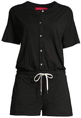 n:philanthropy Women's Finn Buttoned Shirt Romper