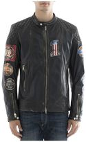 S.W.O.R.D. Black Leather Jacket