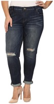 KUT from the Kloth Plus Size Catherine Slouchy Boyfriend Jeans in Commitment Women's Jeans