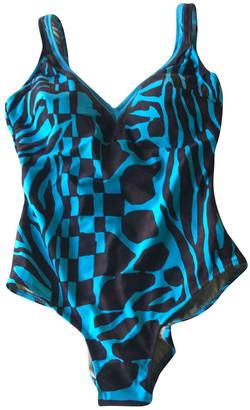 Gottex Turquoise Lycra Swimwear for Women