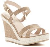 Athena Alexander Anette Rhinestone Embellished Wedge Platform Sandal