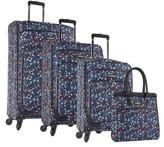 Nine West Unisex Packmeup 4-Piece Luggage Set