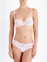 Chantelle Presage lace half-cup bra