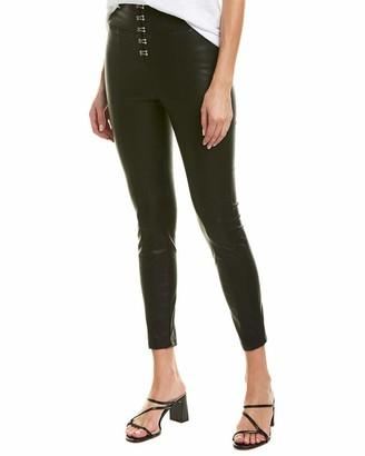 Blank NYC Women's Vegan Leather Skinny Black