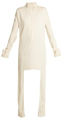 J.W.Anderson Extended Side-panel Crepe Shirt - Womens - Ivory