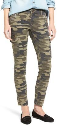 Mavi Jeans Juliette Camo Print Military Cargo Pants