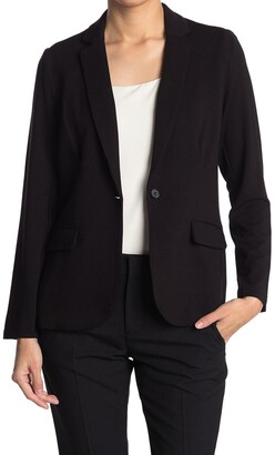 Catherine Malandrino French Terry Knit Blazer