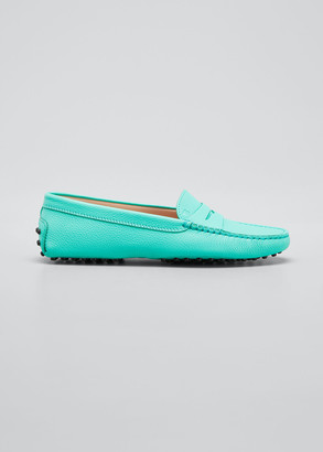 Tod's Gommini Pebbled Leather Moccasins