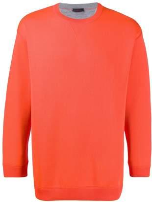 Valentino printed lettering sweatshirt
