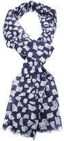 Jil Sander printed scarf
