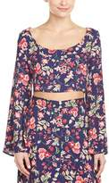 Somedays Lovin Vintage Floral Crop Top.