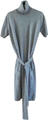 Malo Grey Cashmere Dress for Women