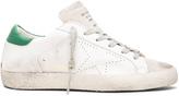 Golden Goose Deluxe Brand Superstar Low Top Leather Sneakers