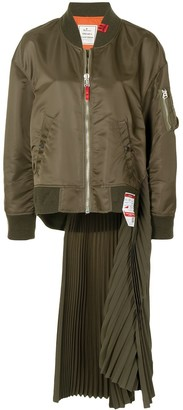 Maison Mihara Yasuhiro Satin-Finish Bomber Jacket