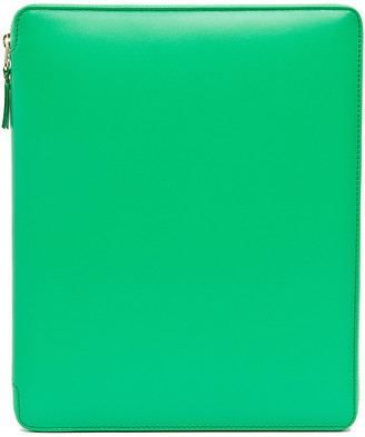 Comme des Garcons Classic iPad Case in Green | FWRD