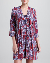 Cosabella Anouck Floral-Print Robe