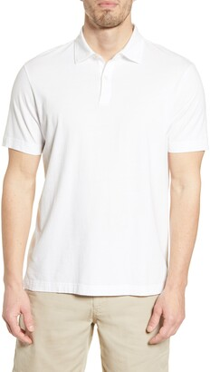 Faherty Reserve Organic Pima Cotton Polo