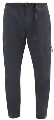 Descente Parachute Belted-waist Ripstop Trousers - Black