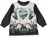 Molo Baby Girl's Elvira T-Shirt - Swans