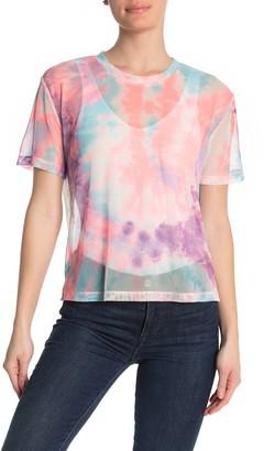 Socialite Short Sleeve Mesh T-Shirt