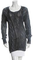 Avant Toi Open Knit Scoop Neck Sweater w/ Tags