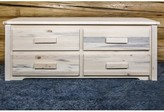 Abella 4 Drawers Double dresser Loon Peak Color: Ready To Finish