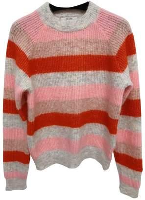 Ganni Pink Wool Knitwear for Women