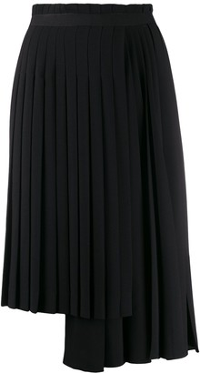 Ermanno Scervino Asymmetric Pleated Skirt