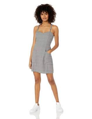 Volcom Junior's Women's UR A Plaid Girl Cami Slip Dress