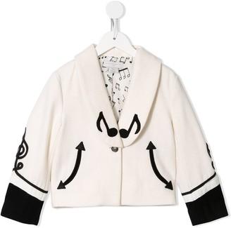 Stella McCartney Kids Musical Notes Jacket