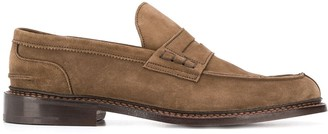 Tricker's Trickers suede loafers