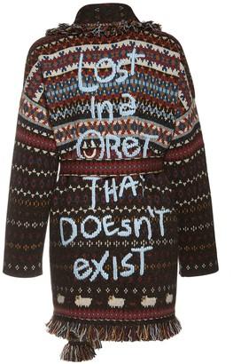 Alanui Embroidered Knit Cashmere Blend Jacket
