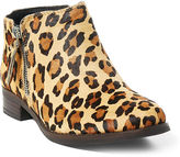 Ralph Lauren Big Kid Faye Leopard Haircalf Bootie