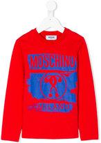 Moschino Kids long sleeve printed T-shirt