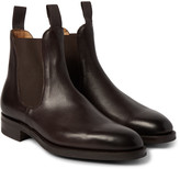 Edward Green - Newmarket Grained-leather Chelsea Boots