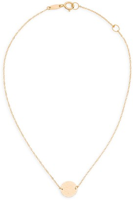 Saks Fifth Avenue 14K Yellow Gold Disc Charm Anklet