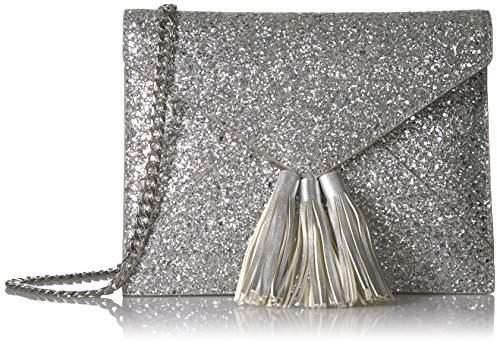cbedc03ec67e Silver Chain Strap Shoulder Bags - ShopStyle