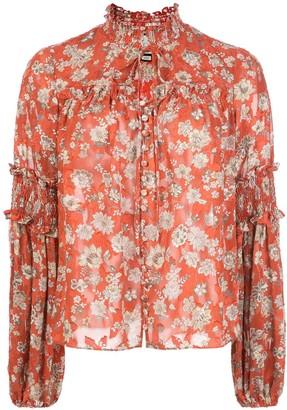 Alexis Zaria floral-print blouse