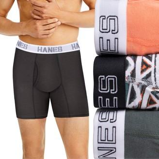Hanes Men's Ultimate ComfortFlex Fit 3-pack Boxer Briefs