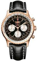 Breitling Stainless Steel and Rose Gold Navitimer Watch 43mm