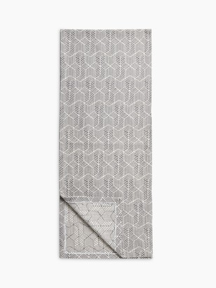 John Lewis & Partners Fusion Pattern Cotton Table Runner, L200cm