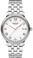 Montblanc 112610 Tradition Automatic Date Bracelet Strap Watch, Silver/white