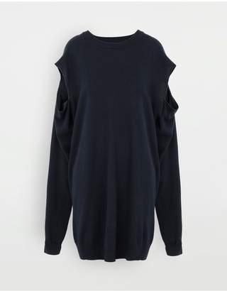 Maison Margiela Cut-Out Knit Dress