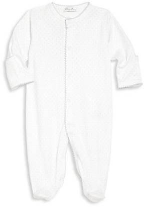 Kissy Kissy Baby's Pima Cotton Dotted Footie