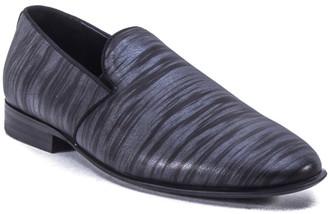 Badgley Mischka Men's Phillip Printed Leather Loafers