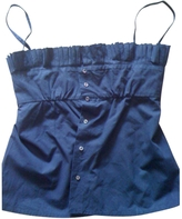 Louis Vuitton Pleated Top With Spaghetti Straps