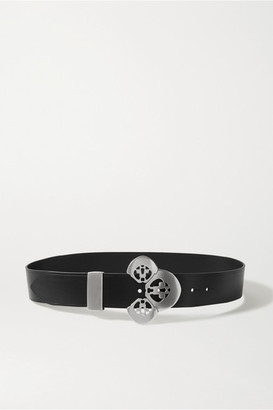 Isabel Marant Adaria Leather Belt - Black
